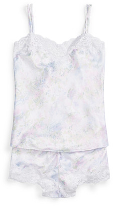 Ralph Lauren Floral Satin Pyjama Shorts Set