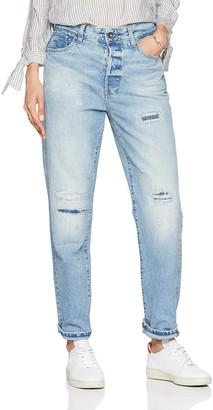 G Star Women's Midge Saddle High Waist Boyfriend Jeans