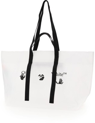 Off-White Logo Shopper Tote Bag