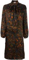 Hache floral print dress