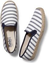 Keds Women's Champion Slip Breton Stripe Jute Fashion Sneaker
