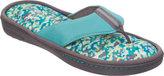 Dearfoams Women's Active Thong Slipper with Memory Foam