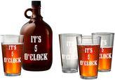 Artland 5-pc. Beer Growler & Glasses Set
