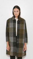 Halla Plaid Coat