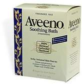 Aveeno Fragrance Free Soothing Bath Treatment, 8-Count Boxes (Pack of 3) by