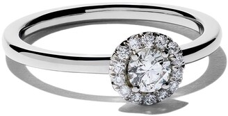 De Beers Platinum My First Aura solitaire diamond ring