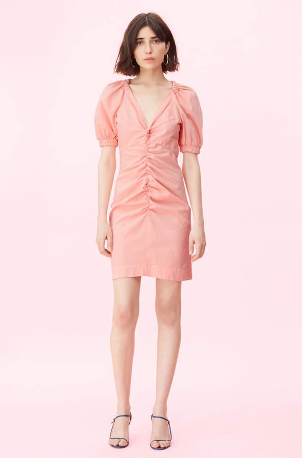 Rebecca Taylor La Vie Stretch Cotton Linen Dress