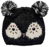 San Diego Hat Company Children's Jeweled Owl Knit Beanie KNK3507