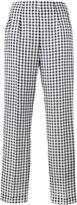 Emilia Wickstead Arabella gingham trousers