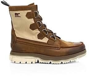 Sorel Men's Atlis Caribou Leather & Canvas Hiking Boots