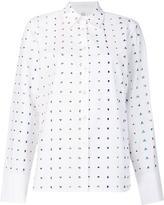Rosie Assoulin rhinestone embellished shirt