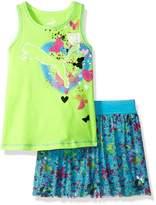 Puma Baby Little Girls' Top and Tulle Skort Set