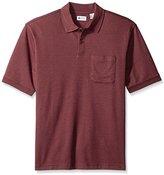 Haggar Men's Short Sleeve Minigrid Knit Shirt