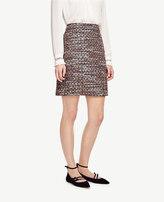 Ann Taylor Sequin Tweed Skirt