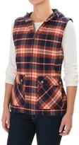 Kavu Campout Flannel Vest (For Women)
