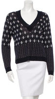 Rag & Bone Patterned V-Neck Sweater