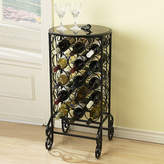 Asstd National Brand Glass-Top Wine Rack Table