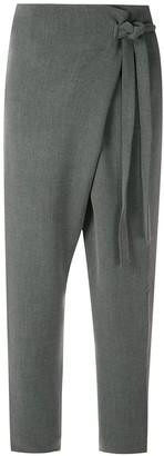 LE SOLEIL D'ETE Lavande wrap trousers