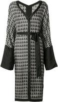Thomas Wylde Loosestrife kimono - women - Silk - XS