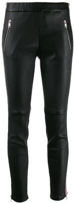 Alexander McQueen Side Stripe Skinny Trousers