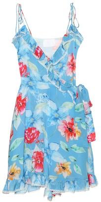 In Bloom silk minidress