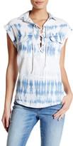 Jessica Simpson Chambray Tie-Dye Shirt