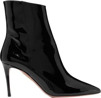 Aquazzura Alma 85 Patent-leather Ankle Boots