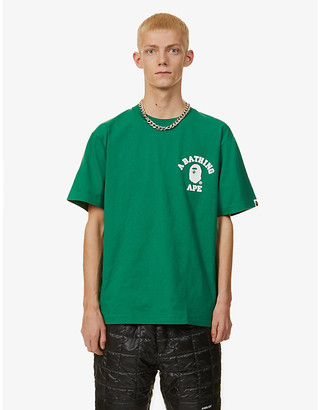 A Bathing Ape College One Point cotton-jersey T-shirt