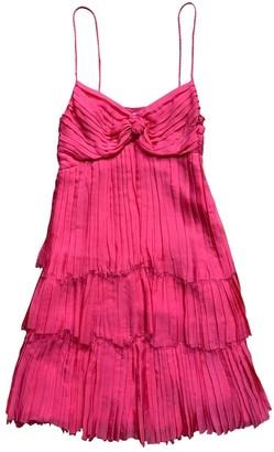 Philosophy di Alberta Ferretti Pink Silk Dress for Women