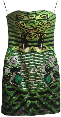 Mary Katrantzou Green Silk Dress for Women