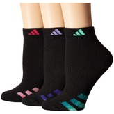 adidas Cushioned Variegated 3-Pack Low Cut Socks Women's Low Cut Socks Shoes