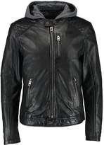 Oakwood Sailor Leather Jacket Black