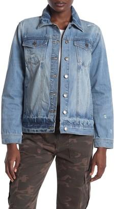 Velvet Heart Margarita Distressed Denim Jacket