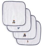 Ralph Lauren Infant Boys' Polo Icon Wash Cloth Set