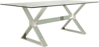 OKA Park Dining Table - Metal/Glass