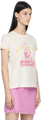 Marc Jacobs White Peanuts Edition 'Happiness Is' T-Shirt