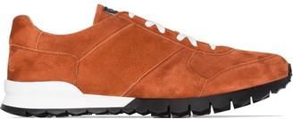 Kiton Three-Toned Low-Top Sneakers