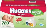 Huggies Natural Care 720 Count Wipes