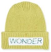 Topshop Women's Wonder Knit Beanie - Yellow