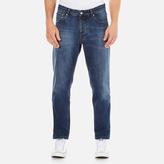 Ami Men's Carrot Fit Jeans Blue