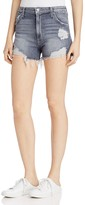 Joe's Jeans Bella Distressed High Rise Denim Shorts in Enni