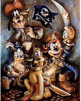 Disney Mickey Mouse and Friends ''Motley Crew'' Giclée by Darren Wilson