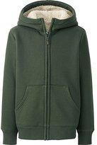 Uniqlo Kids Pile-Lined Sweat Long Sleeve Full-Zip Hooded Jacket