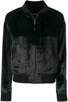 J Brand velvety bomber jacket