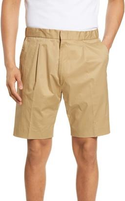 HUGO BOSS Ginzou Slim Fit Pleated Shorts