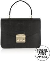 Furla Metropolis Top Handle Bag- Black