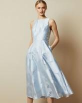 Ted Baker Sleeveless Floral Midi Dress