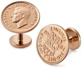 Charles Tyrwhitt Six pence coin cuff links