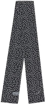Dolce & Gabbana Polka Dot Print Stole