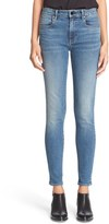 Alexander Wang Denim x 'Whip' Skinny Ankle Jeans (Washed Medium Indigo)